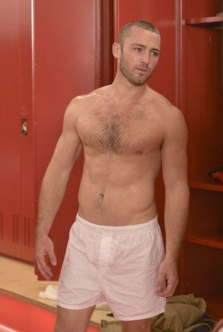 men in boxers underwear - Jake McLaughlin underwear in quantico