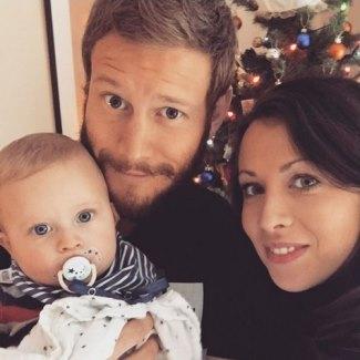 tom hopper baby wife laura higgins