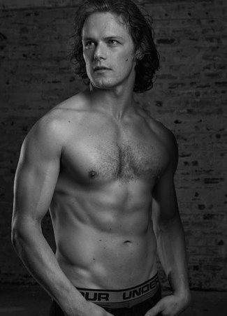 Sam Heughan underwear