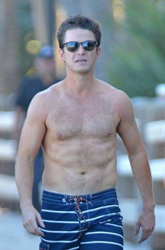 billy bush shirtless dad bod