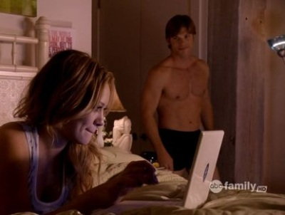 chris carmack underwear boxer shorts with hillary duff in beauty and the briefcase