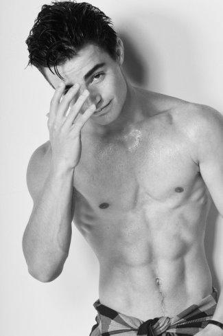 devon bagby shirtless hot body