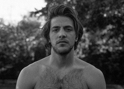 Alberto Frezza shirtless - hairy hunk