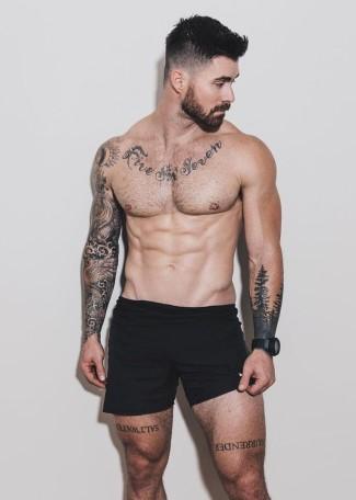 Kyle Krieger underwear - nico tortorella boyfriend