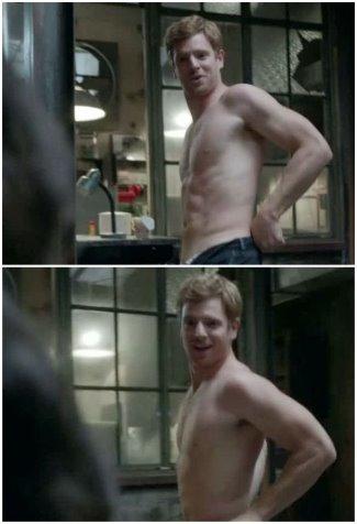 Nick Gehlfuss shirtless body in shameless
