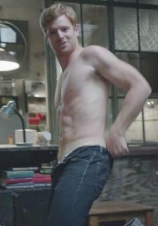 Nick Gehlfuss shirtless body