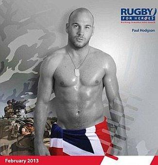 Paul Hodgson sexy bald