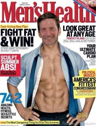 Tim Ryan shirtless congressman - aaron schock body2