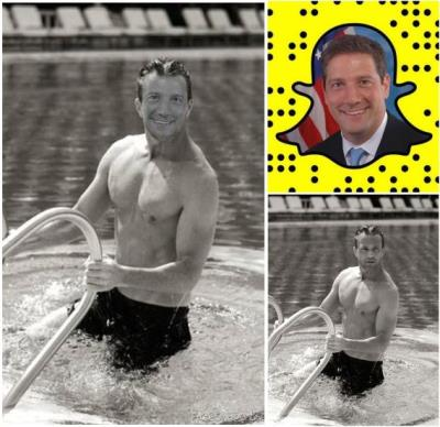 Tim Ryan shirtless congressman - model body - composite