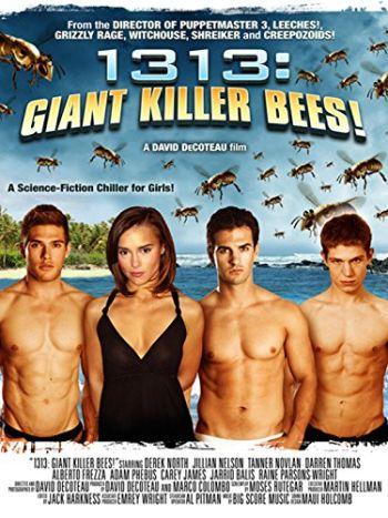 alberto frezza shirtless in giant killer bees