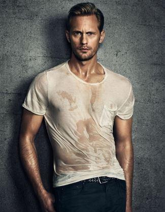 alexander skarsgard hot guy wet shirt - vanity fair italy3