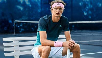 alexander zverev endorsements - adidas