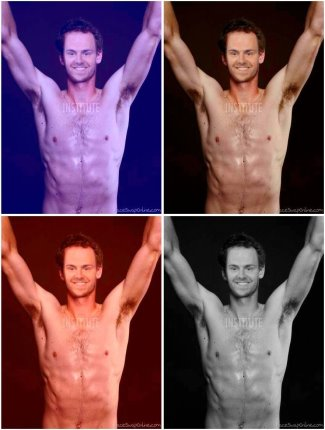 andy west boyfriend shirtless - andy murray body - hot
