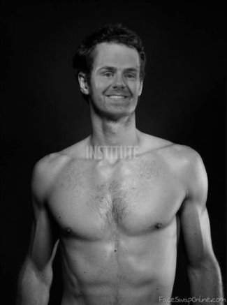 andy west shirtless fake - andy murray - gray