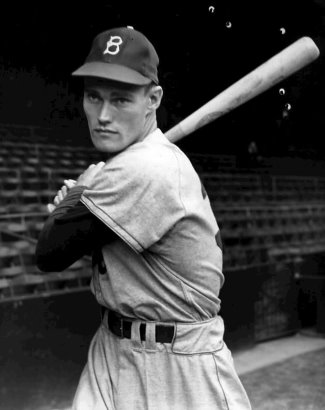 sexy baseball players - chuck connors