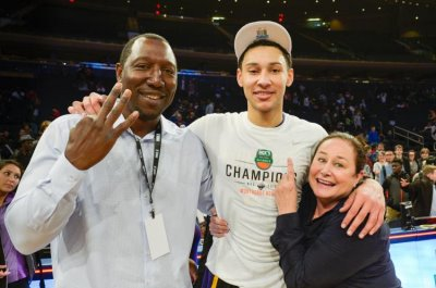 ben simmons family - dad dave and mom julie