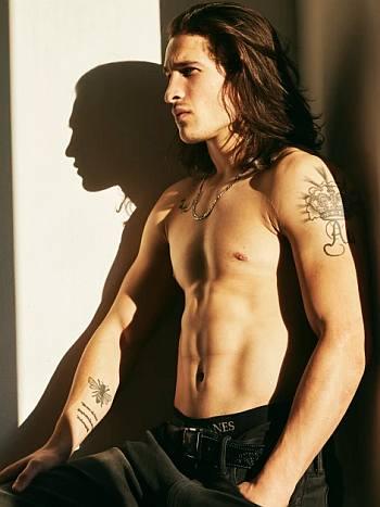 biaggo ali walsh shirtless modeling photos2