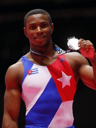 black male gymnasts - Manrique Larduet - cuba