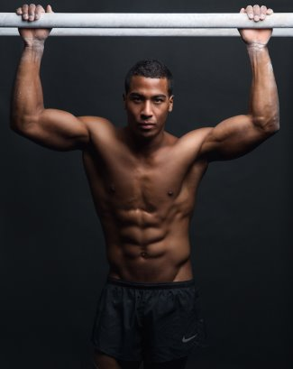 black male gymnasts - josh dixon