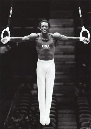 black male gymnasts - ron galimore