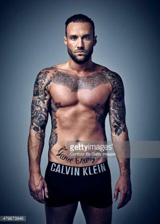 calum best shirtless and underwear