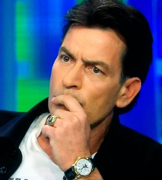 celebrity patek philippe watch - charlie sheen