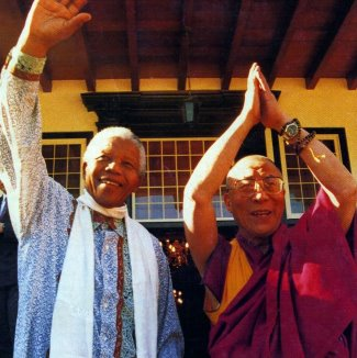 dalai lama rolex watch - yellow gold day date