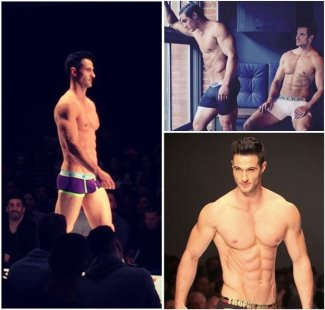 daniel maguire underwear model runway and ads