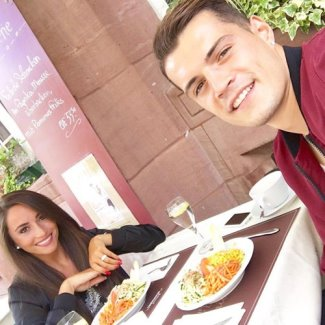 granit xhaka girlfriend Leonita Lekaj1