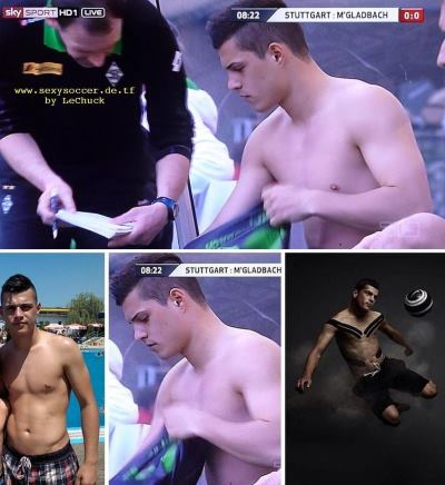 granit xhaka shirtless photos