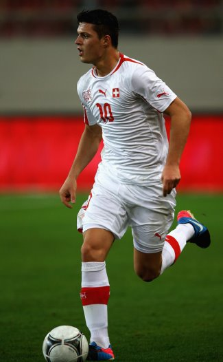 granit xhaka swiss hot soccer player