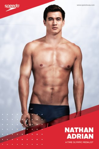 hot mixed race men - nathan adrian - asian american olympic star2