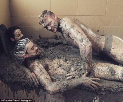 jamie redknapp gay with Freddie Flintoff and Jack Whitehall