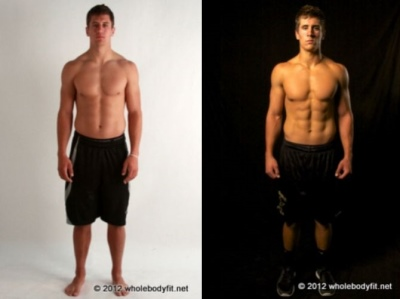 jordan rodgers body - before and after