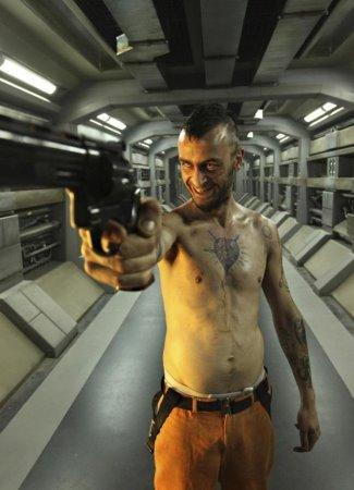 joseph gilgun shirtless - hydell in lockout2