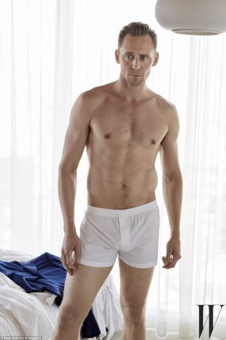 men in white boxer shorts underwear - tom hiddleston