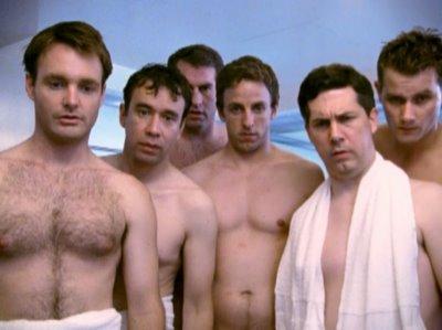 seth meyers shirtless on snl