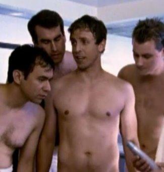 seth meyers shirtless on snl2
