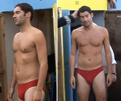 tom ellis hot speedo
