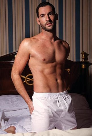 tom ellis underwear - white boxer shorts