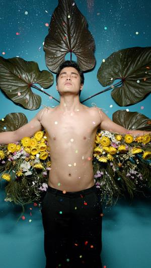 Remy Hii shirtless by del kathryn barton2