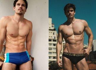 bernard belmar underwear briefs and swimsuit