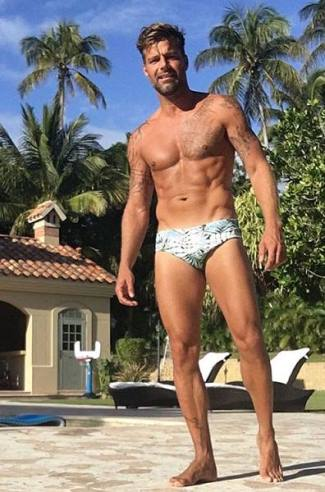 best celebrity speedo swimsuit 2016 - ricky martin