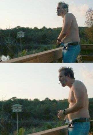 david harbour shirtless photos - stranger things2