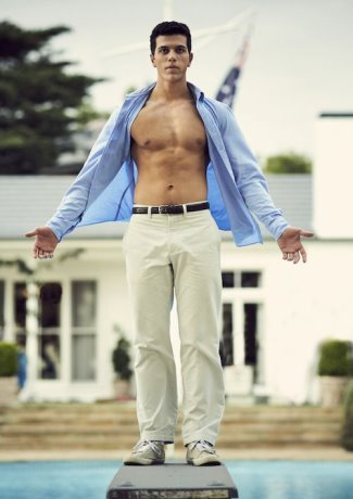 elias anton shirtless - danny kelly in barracuda2
