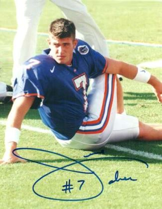 jesse palmer football uniform