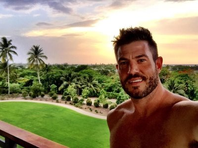 jesse palmer shirtless - instagram @jessepalmerabc