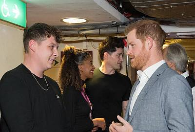 john newman and prince harry