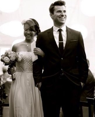 steve jones wedding - wife Phylicia Jackson2