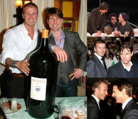 david beckham gay proof - he loves tom cruise bromance